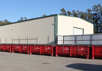 anterra oilfield waste disposal services transportation collection, containers and bins