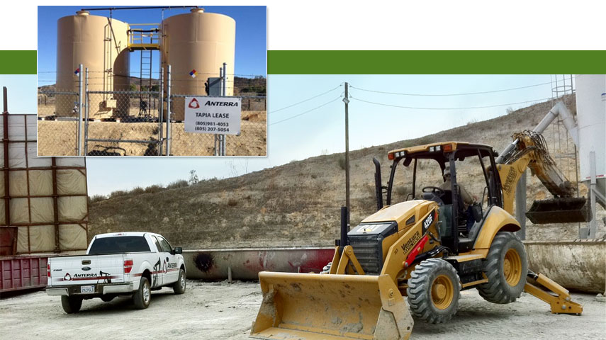 anterra-oilfield-waste-collection-and-disposal-services, ventura county, kern county, los angeles