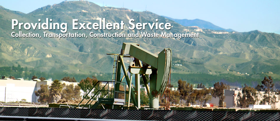 anterra olifield waste disposal management services, transportation, collection, processing, disposal, ventura county, los angeles, kern county