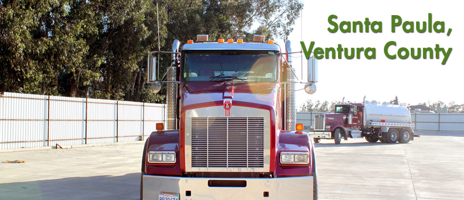 anterra oilfield waste management services, Santa Paula Office and Service Yard, Ventura County